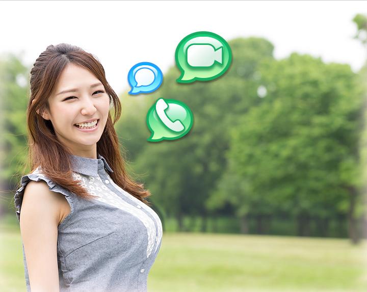 ビデオ通話、音声通話、チャットアプリEazy